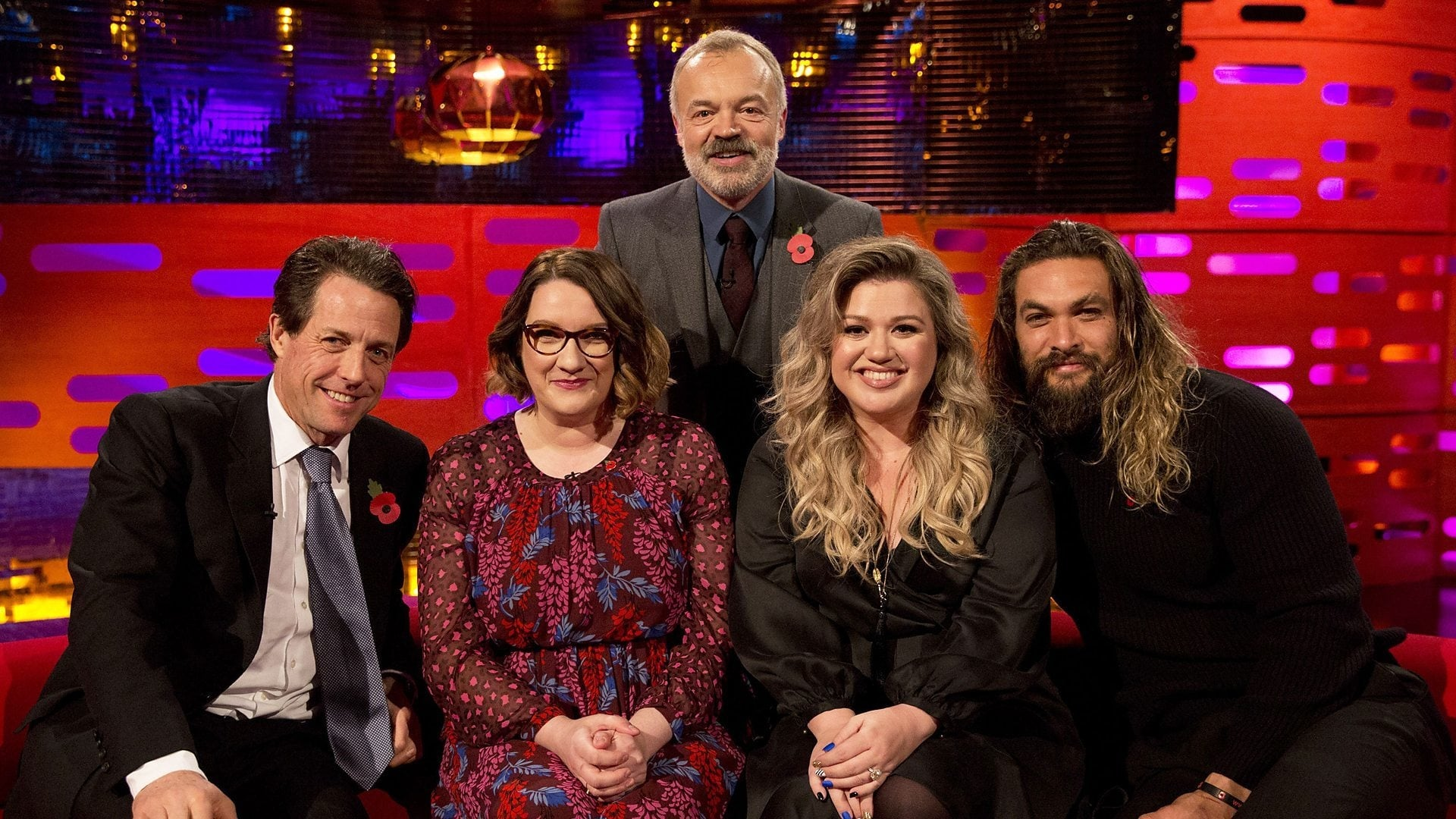The Graham Norton Show Season 22 :Episode 7  Hugh Grant, Jason Momoa, Sarah Millican, Kelly Clarkson