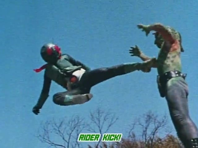 Kamen Rider Season 1 :Episode 7  Duel With Grim Reaper Chameleon! World Fair Impression