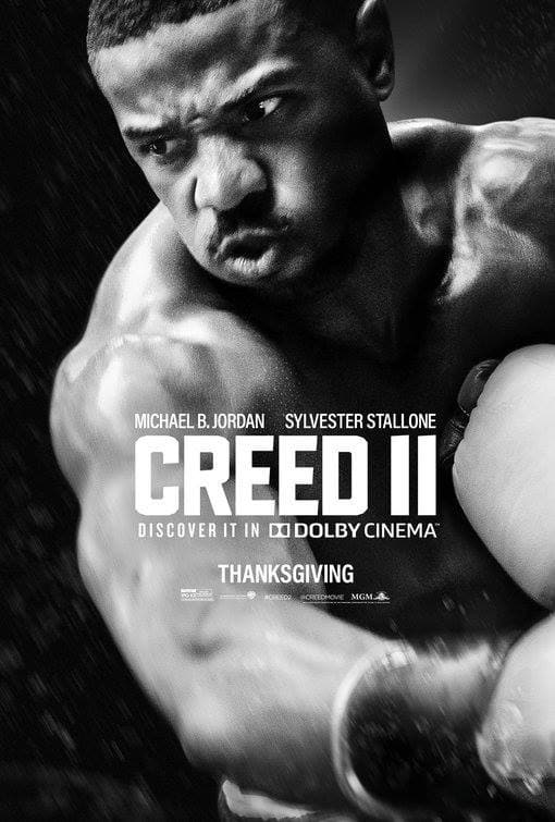 Poster and image movie Film Creed II 2018