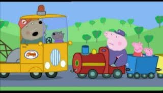 Peppa Pig Season 2 :Episode 38  Grandpa's Little Train