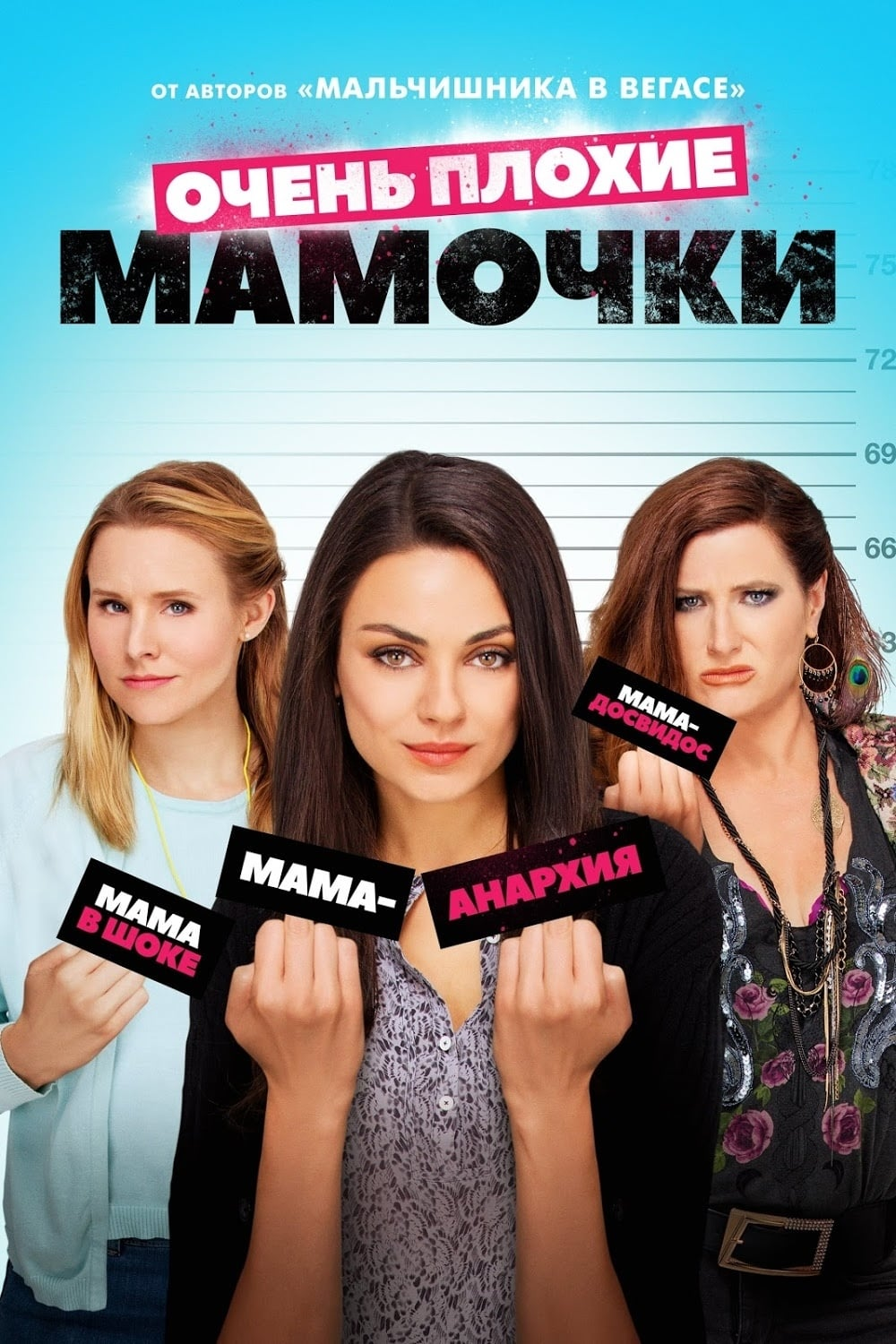 Poster and image movie Film Mame bune si nebune - Mame bune și nebune - Bad Moms - Bad Moms -  2016