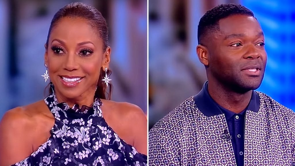 The View Season 22 :Episode 142  Holly Robinson Peete and David Oyelowo