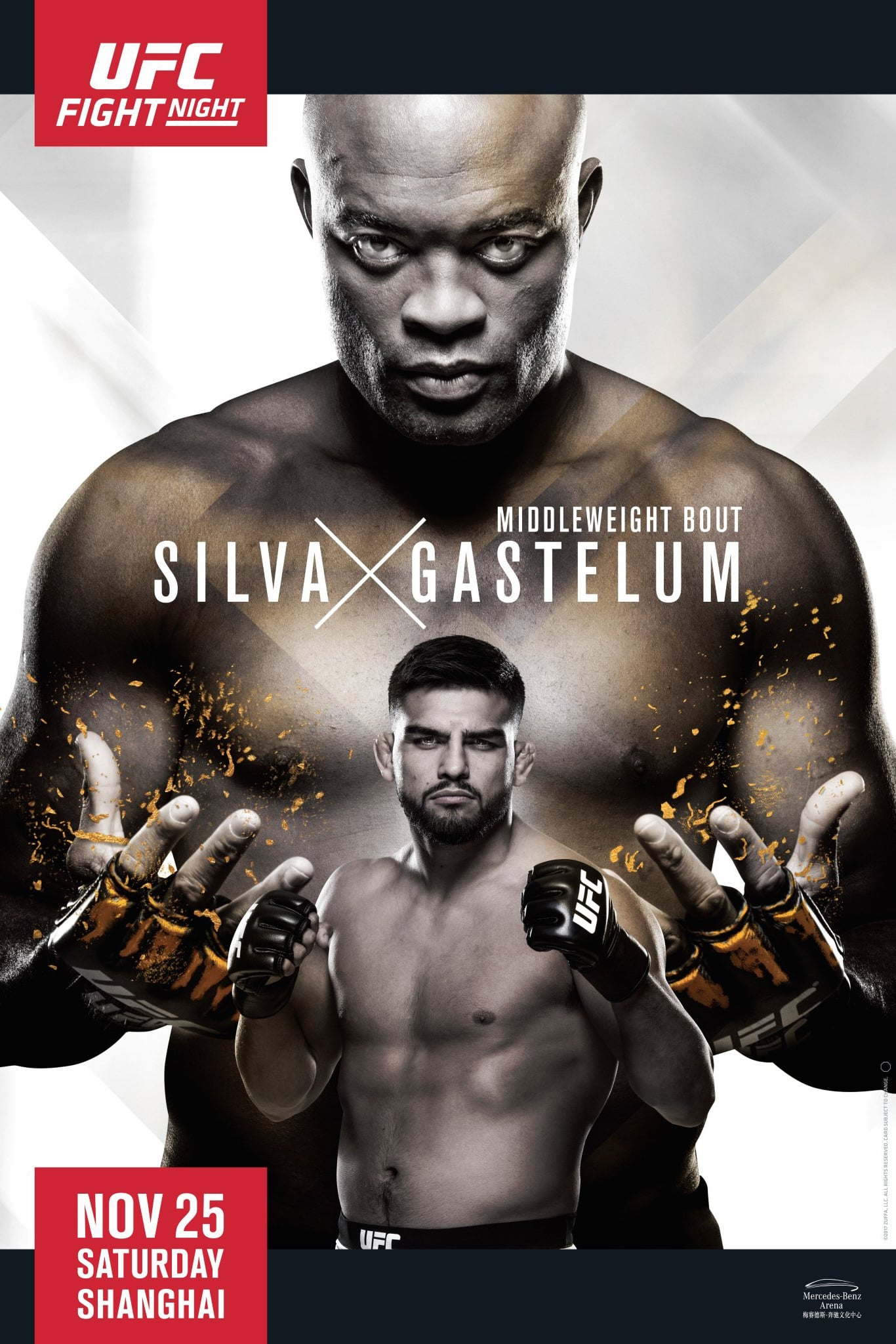Ver UFC Fight Night 122: Silva vs. Gastelum Online HD Español ()
