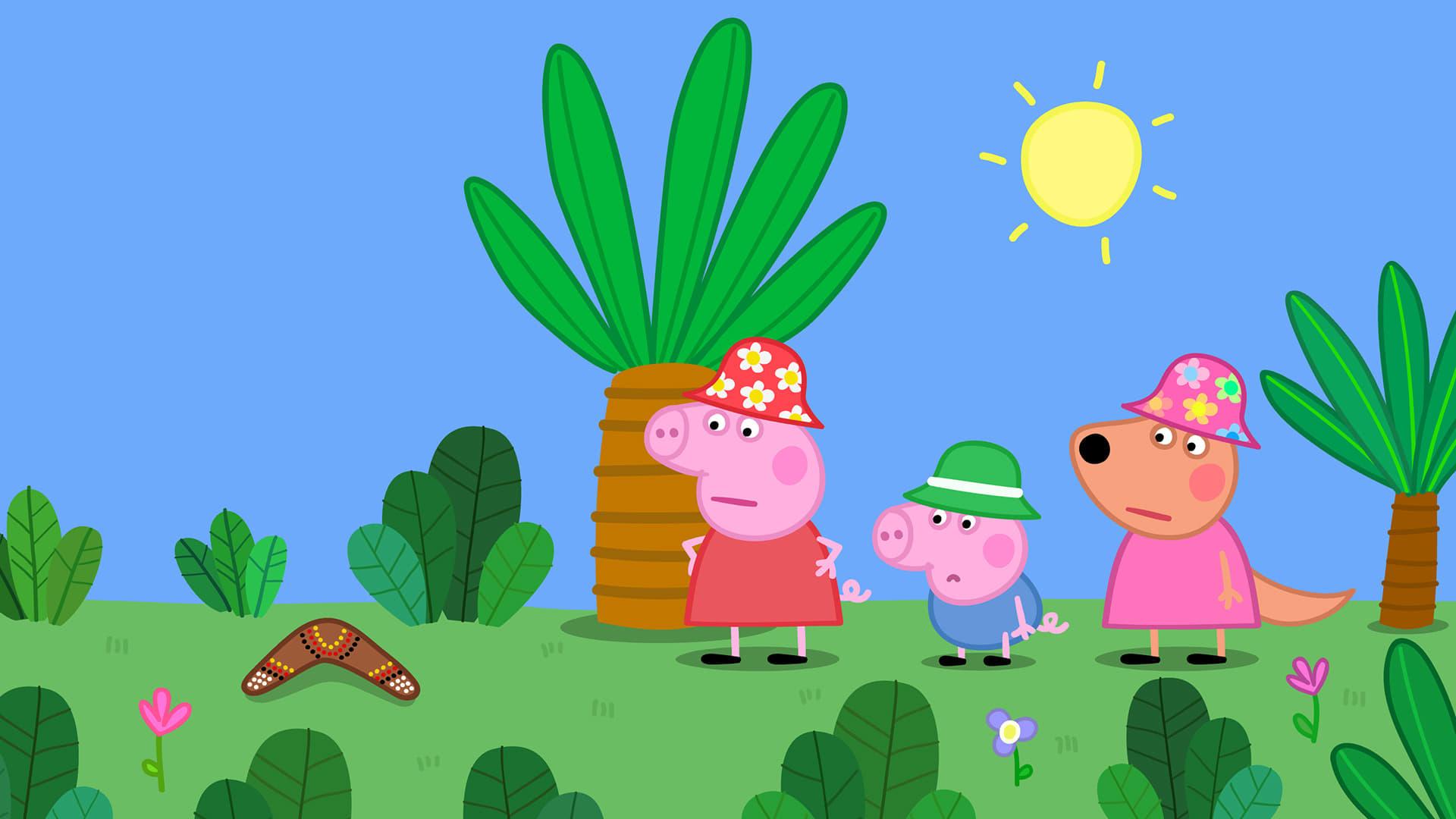 Peppa Pig Season 5 :Episode 22  Australia Part 4 - The Boomerang