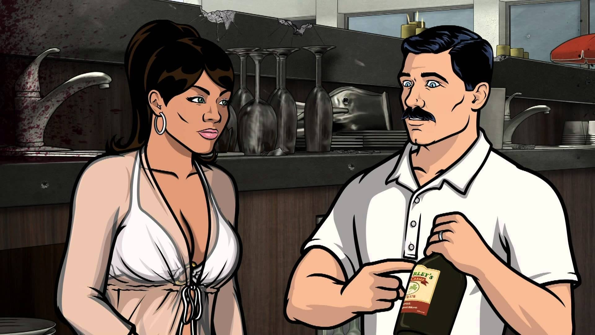 Archer Season 4 :Episode 1  Fugue and Riffs