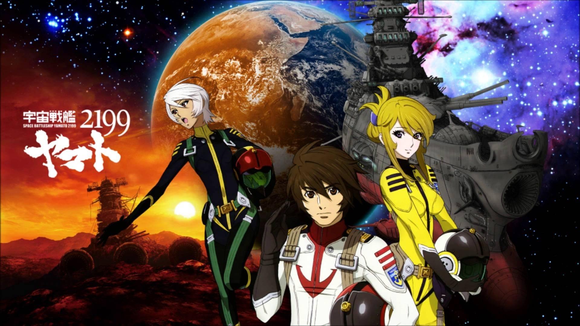 Star Blazers Space Battleship Yamato 2199 Tv Series 2013 2013