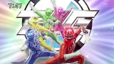 Super Sentai Season 38 :Episode 1  Let's Go on the Express
