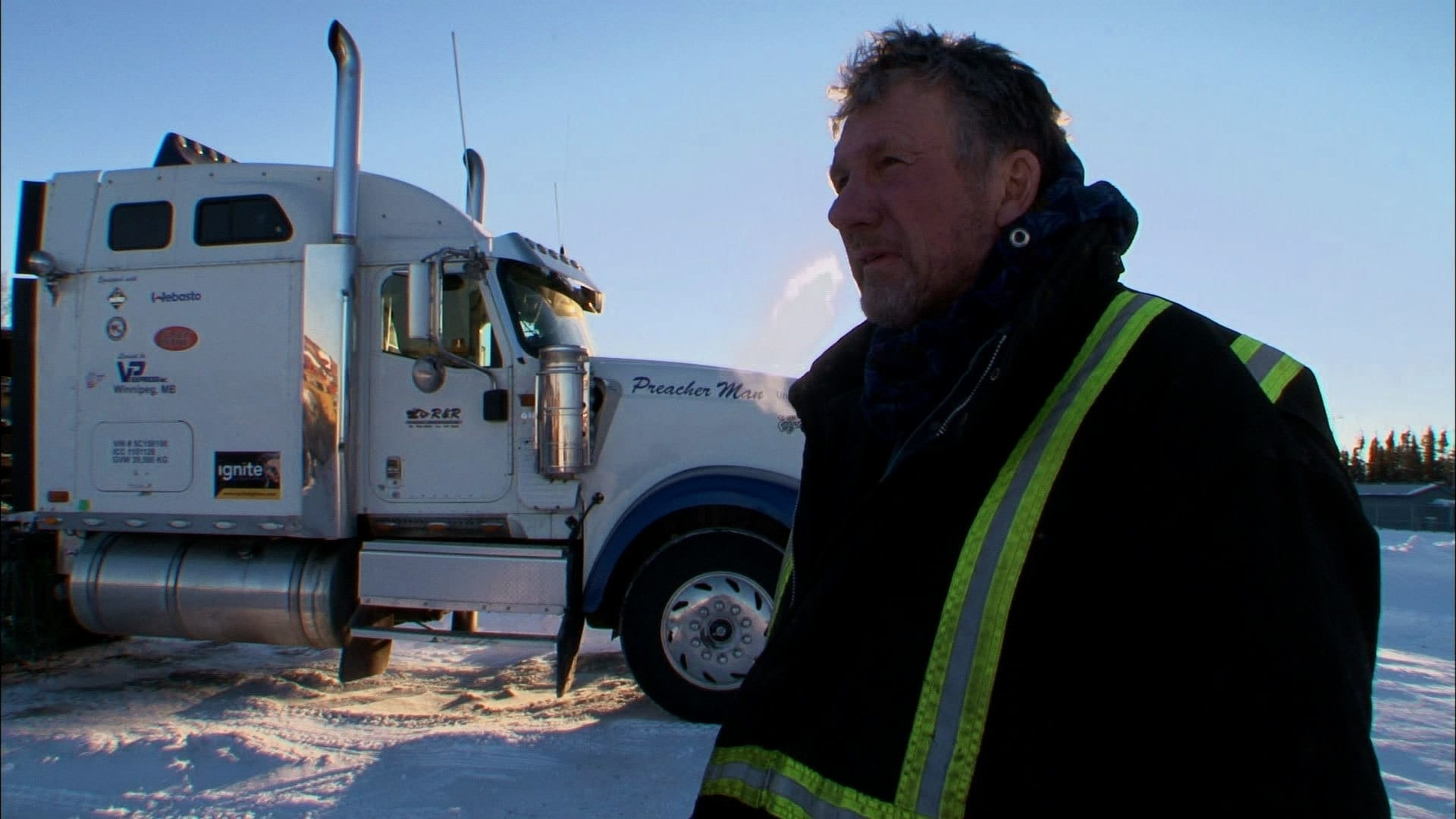Ice Road Truckers Season 8 :Episode 8  Highway to Hell