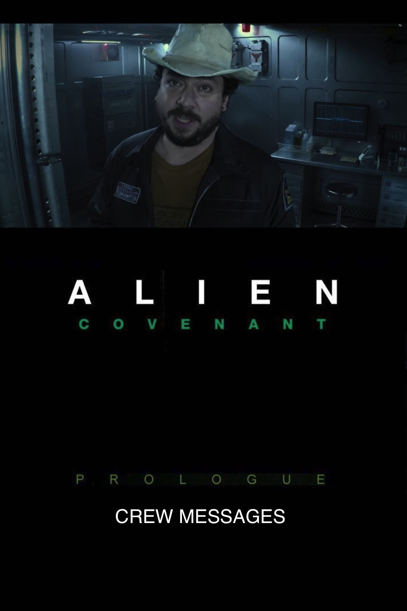 Alien: Covenant Prologue - Crew Messages (2017)