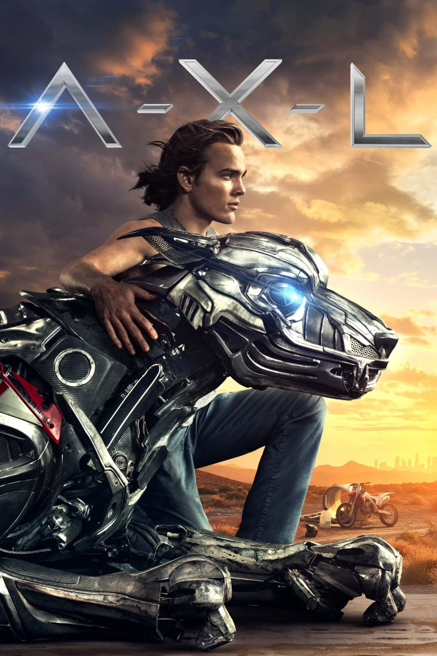 Poster and image movie Film A.X.L. - A.X.L. 2018
