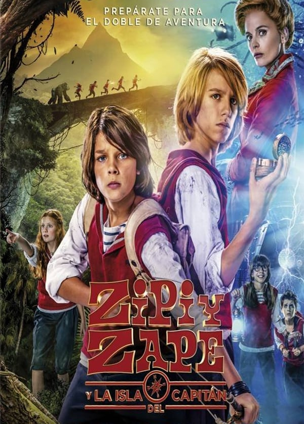 Zip & Zap and the Captain's Island (2016)