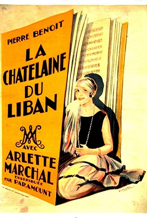 The Chatelaine of the Lebanon (1927)