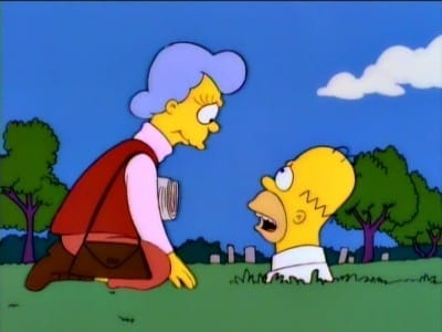 The Simpsons Season 7 :Episode 8  Mother Simpson