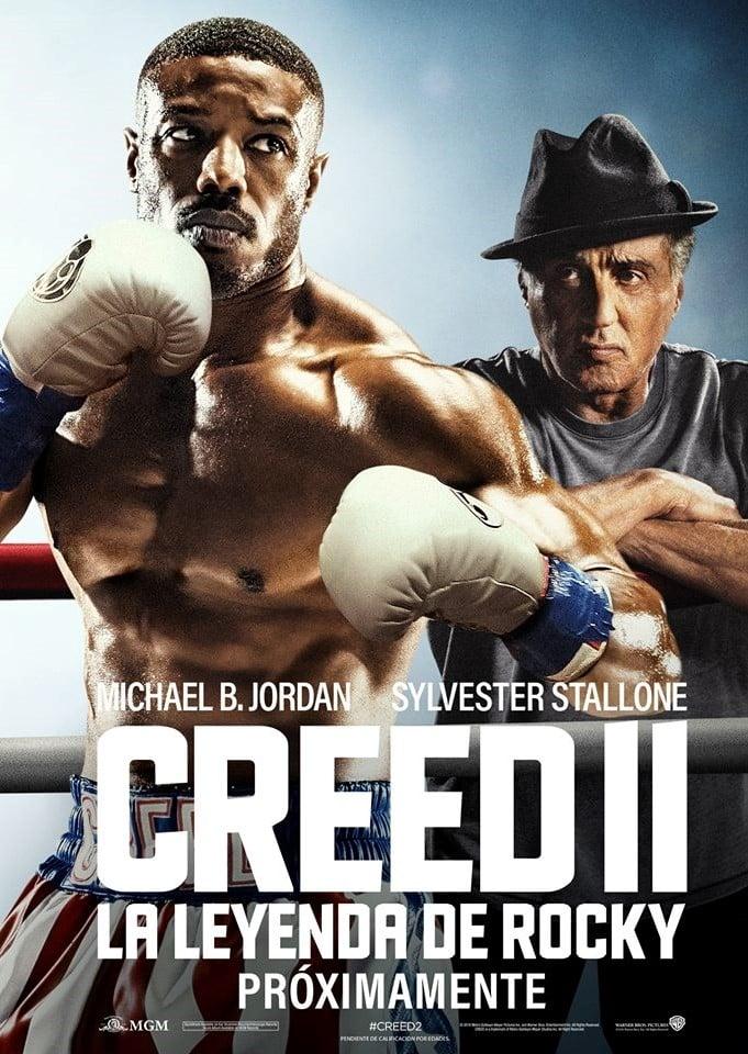 Póster Creed II: La leyenda de Rocky