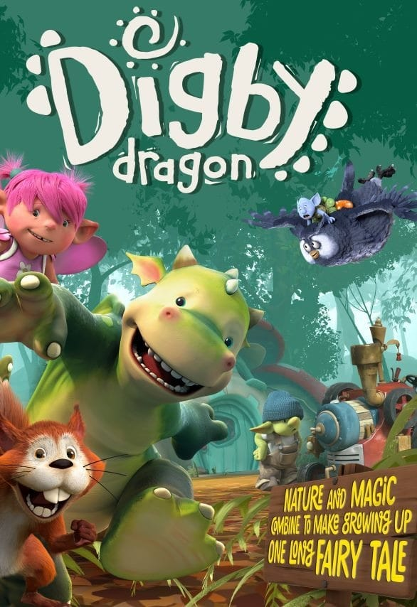 Digby Dragon TV Shows About Forest