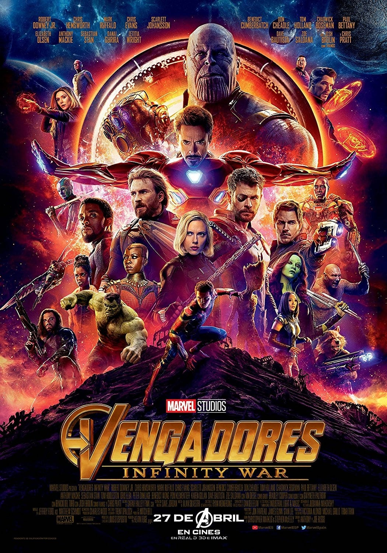 Vengadores: Infinity War Streaming