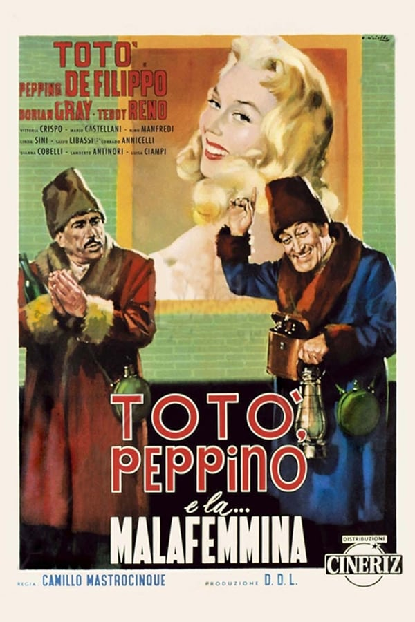 Toto, Peppino, and the Hussy (1956)