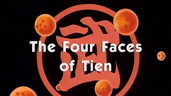 Dragon Ball Season 1 :Episode 141  The Four Faces of Tien