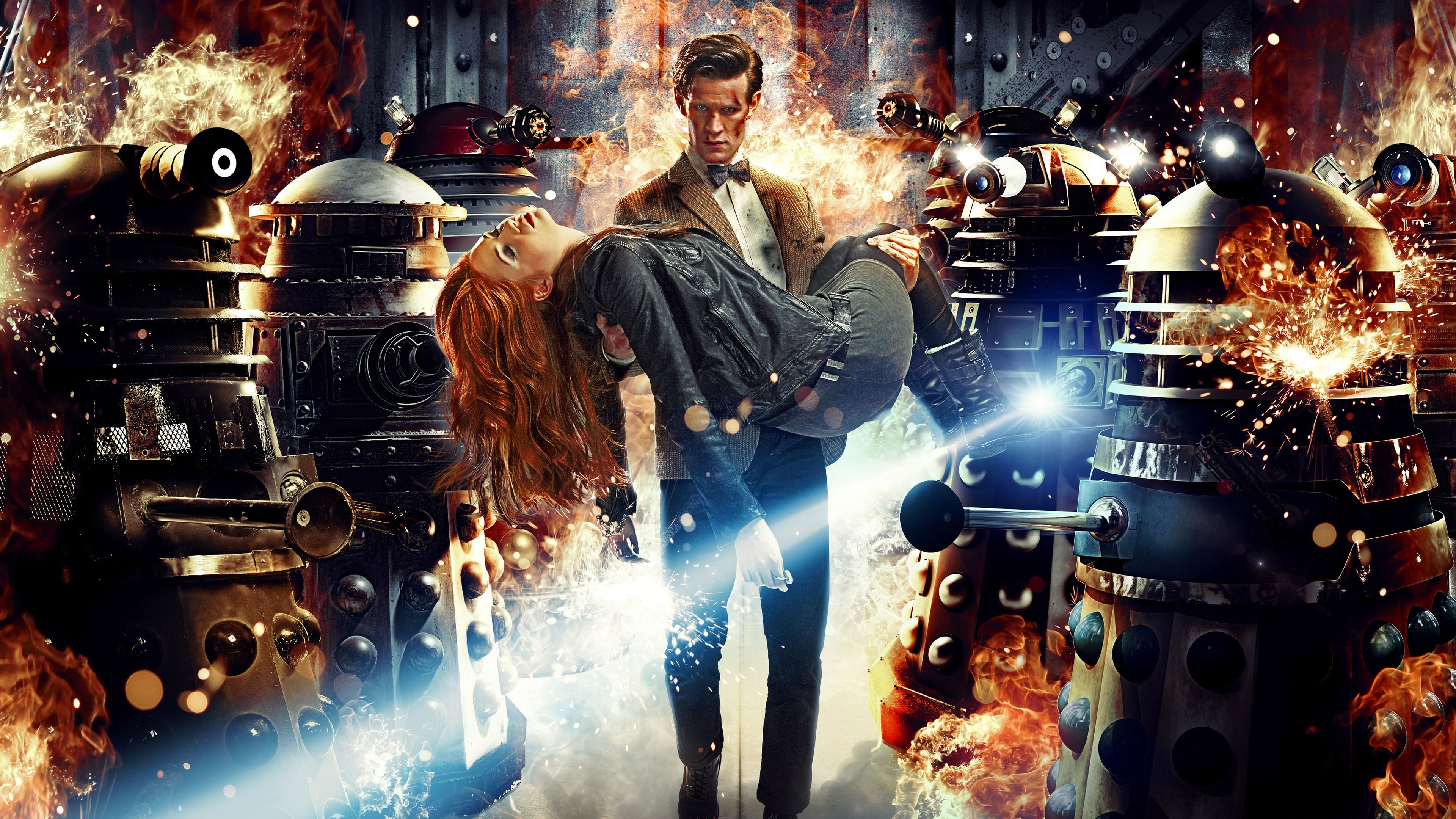 Doctor Who Season 7 :Episode 1  Asylum of the Daleks