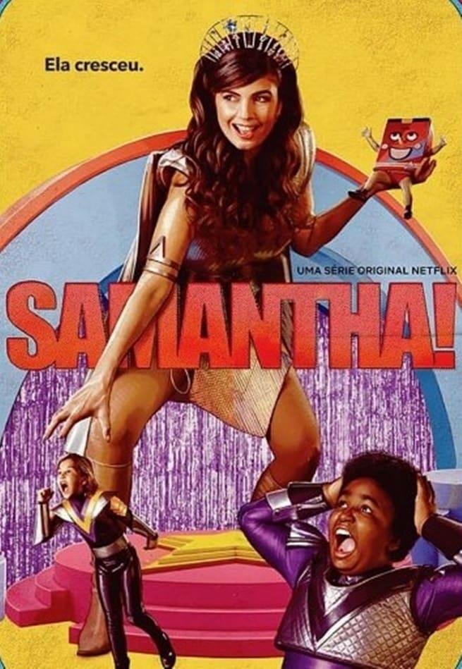 Samantha! 2ª Temporada poster, capa, cartaz