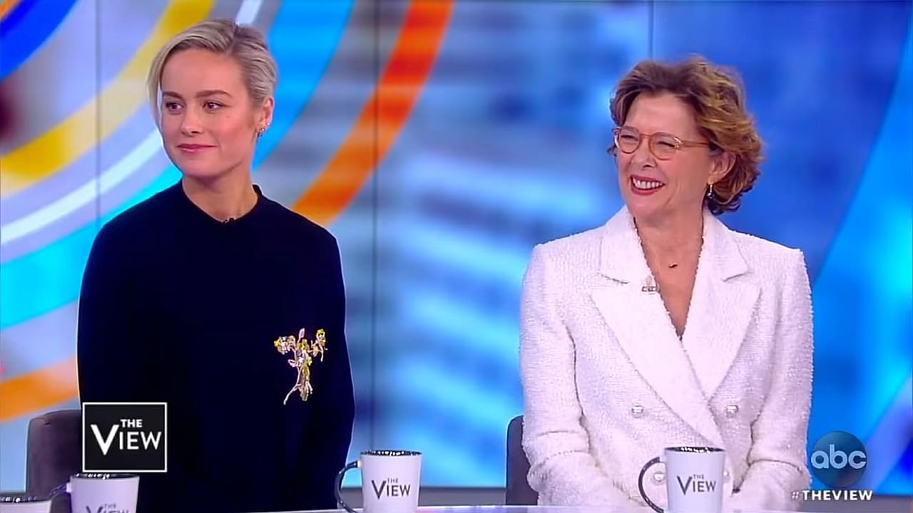 The View Season 22 :Episode 116  Brie Larson & Annette Bening; Janice Dean