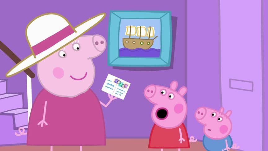 Peppa Pig Season 5 :Episode 52  Stamps