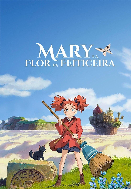 Mary e a Flor da Feiticeira Dublado
