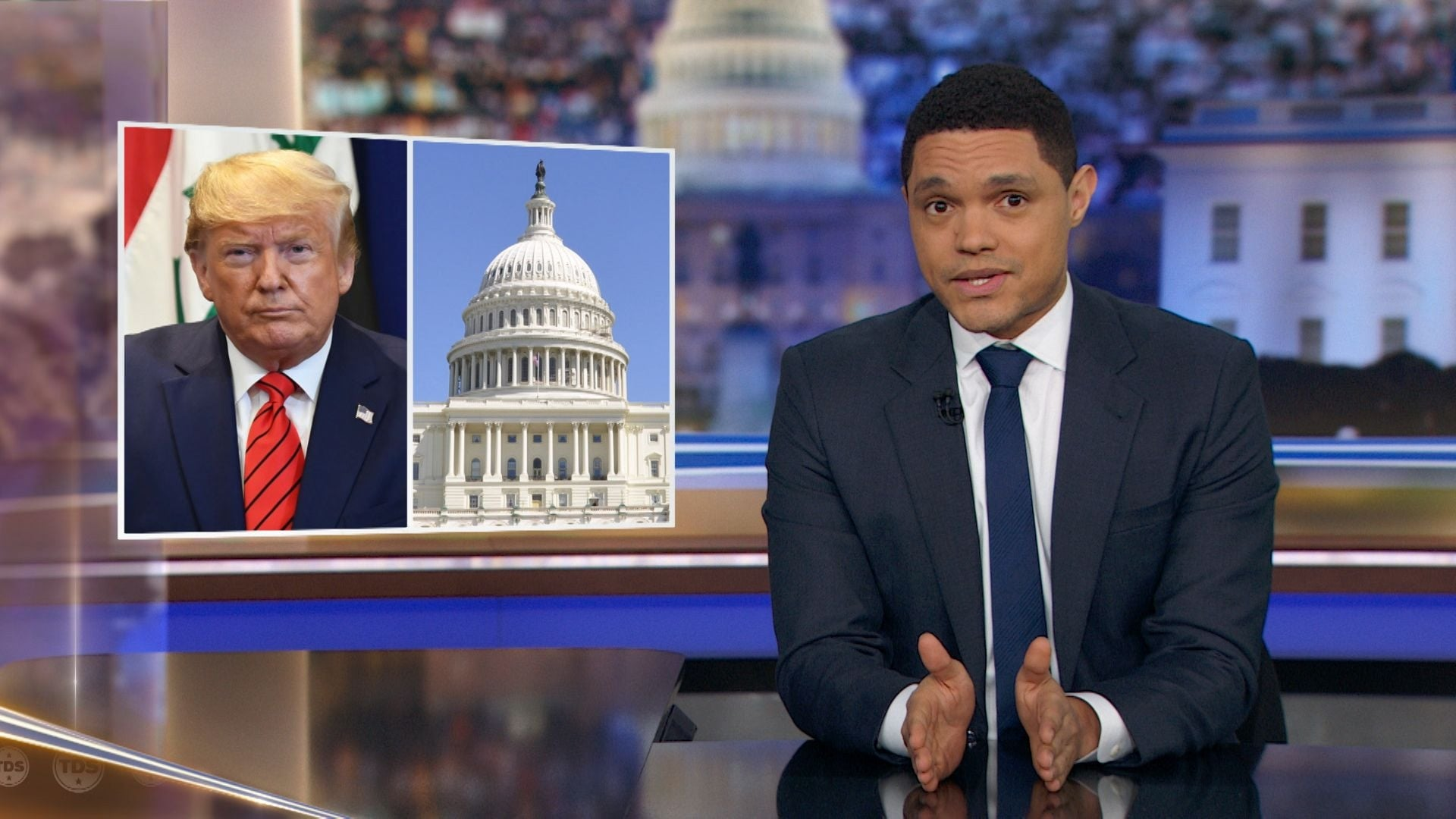 The Daily Show with Trevor Noah Season 25 :Episode 39  Yahya Abdul-Mateen II