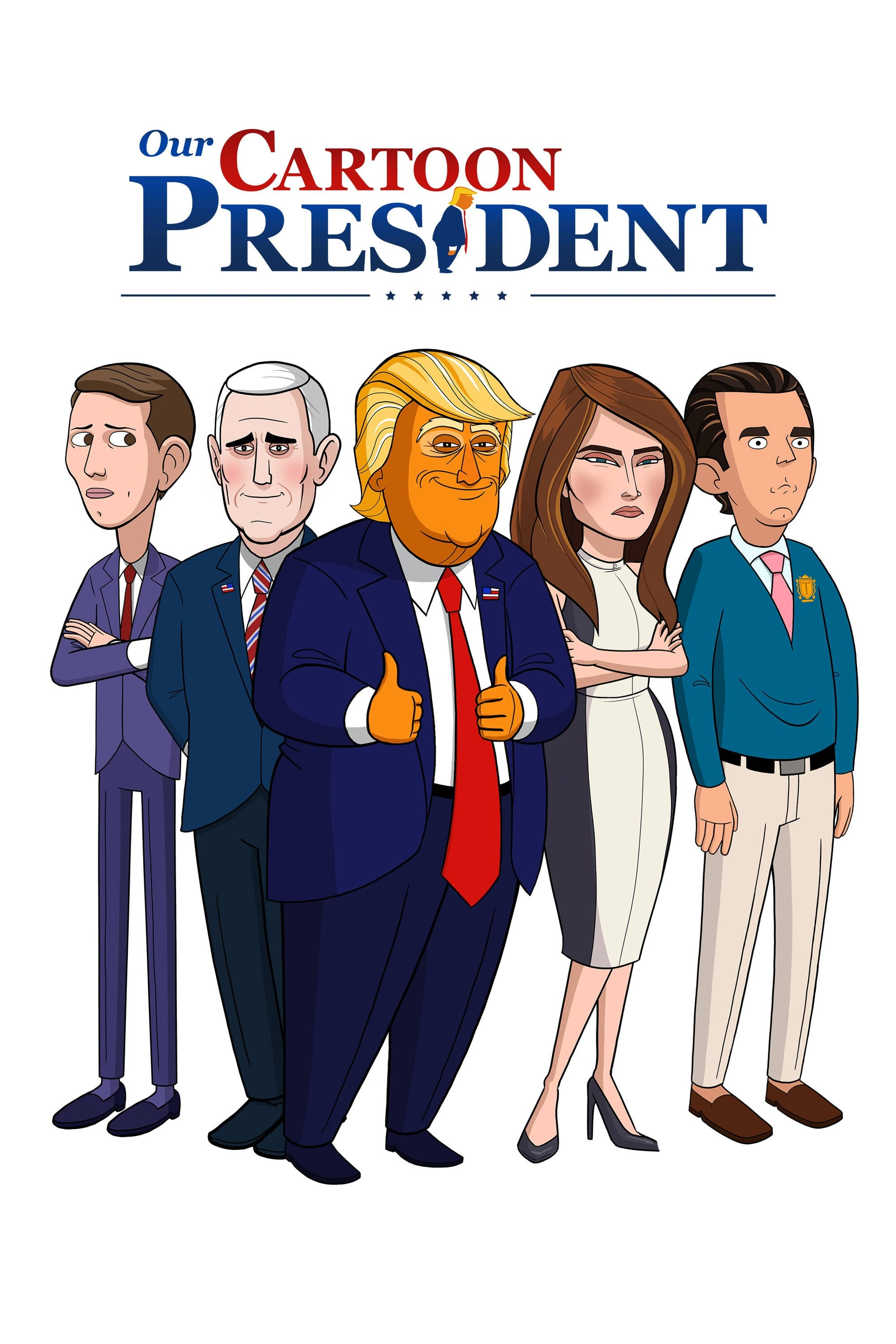 our cartoon president tv series 2018 posters � the
