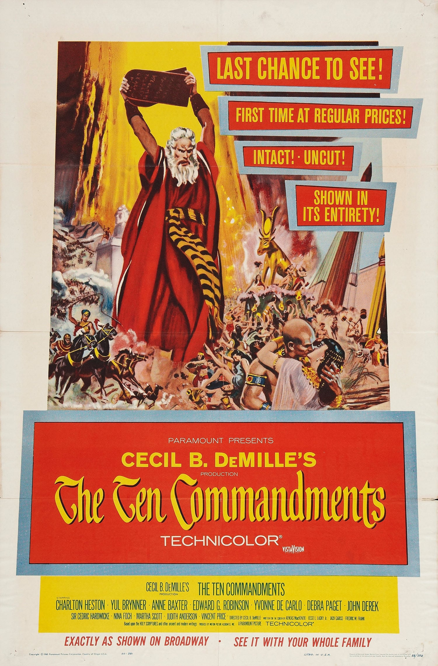 essay ten commandments movie What makes a movie great  what they may see even before the movie  writer of this essay and no longer wish to have the essay published on the.