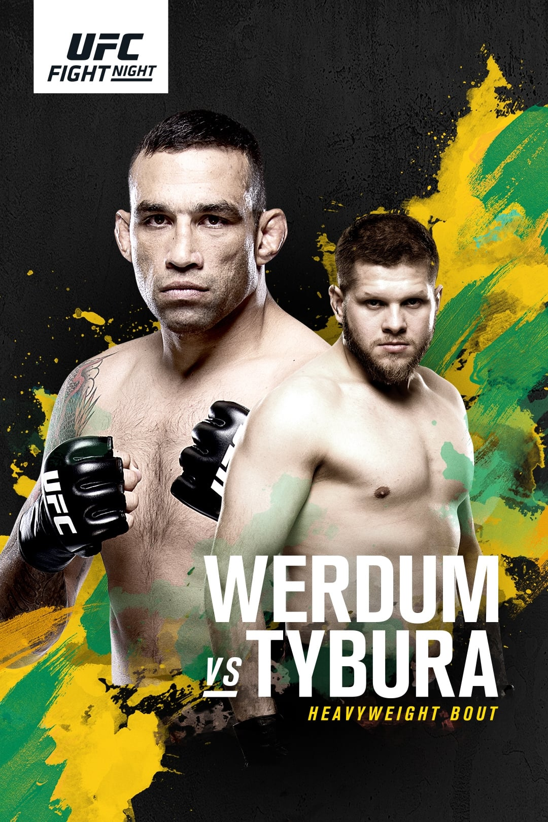 Ver UFC Fight Night 121: Werdum vs. Tybura Online HD Español ()