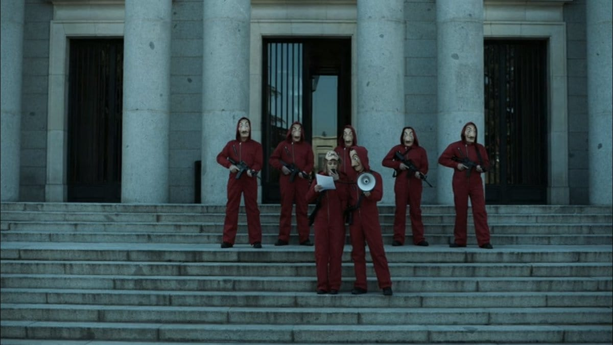 Watch Money Heist: 1x2 Episode Online For Free - Movie4u