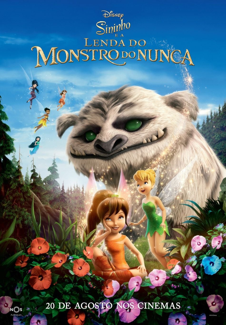 Tinker Bell: E O Monstro da Terra do Nunca Dublado