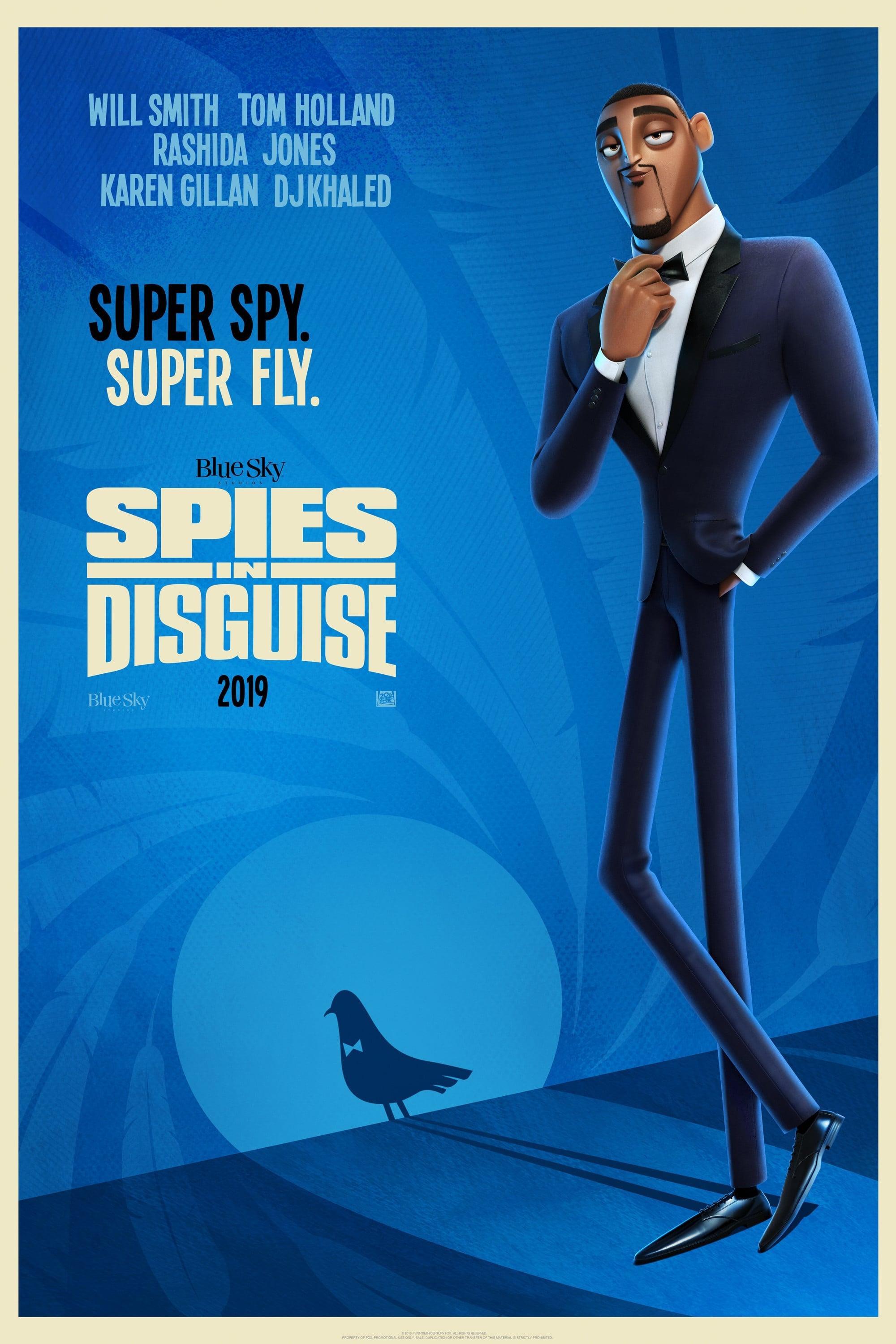 Poster and image movie Film Spies in Disguise - Spies in Disguise 2019
