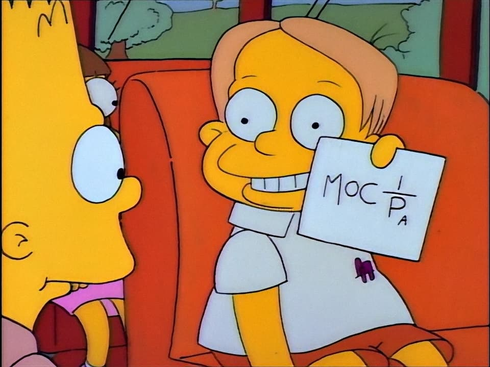The Simpsons Season 2 :Episode 1  Bart Gets an F