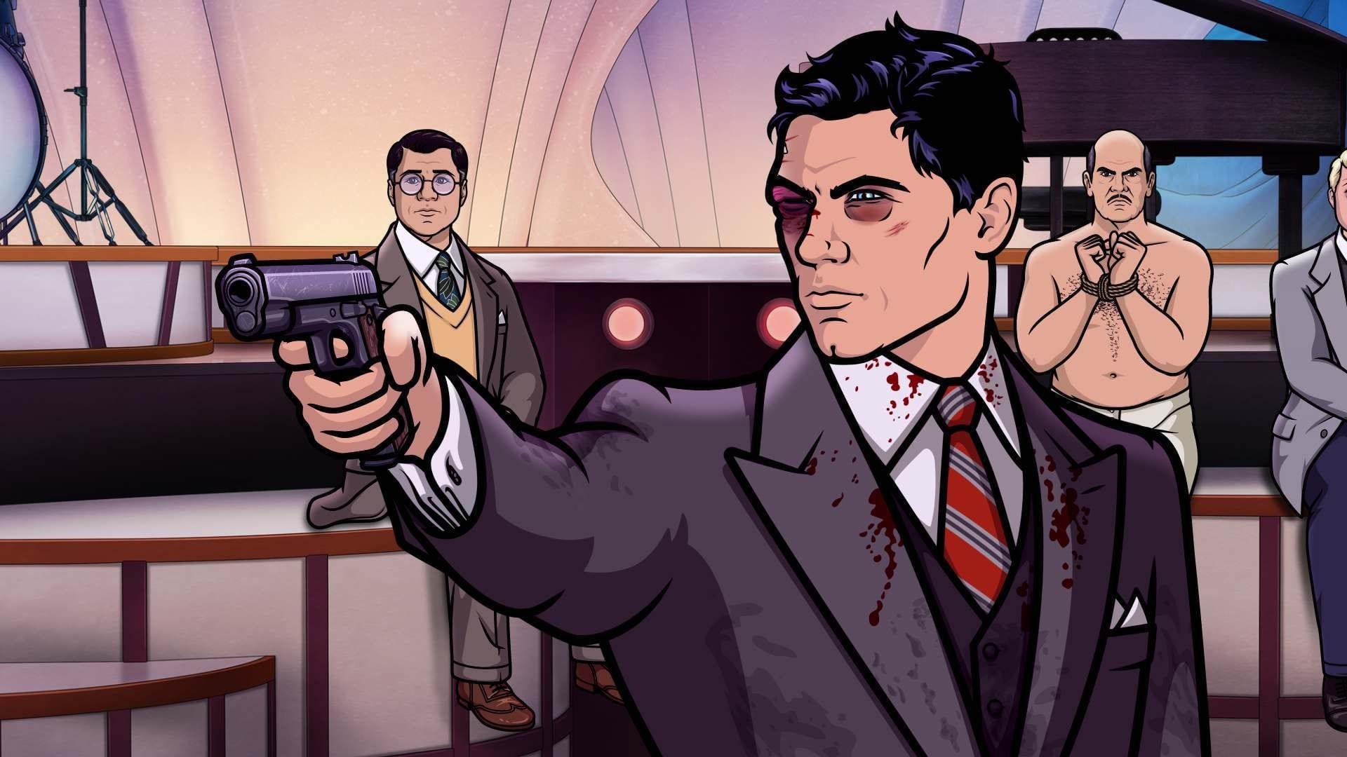 Archer Season 8 :Episode 8  Auflösung