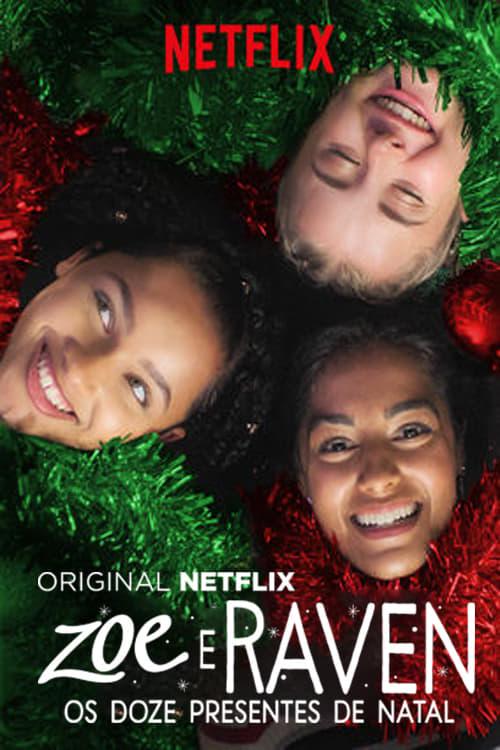 Zoe e Raven: Os Doze Presentes de Natal Dublado