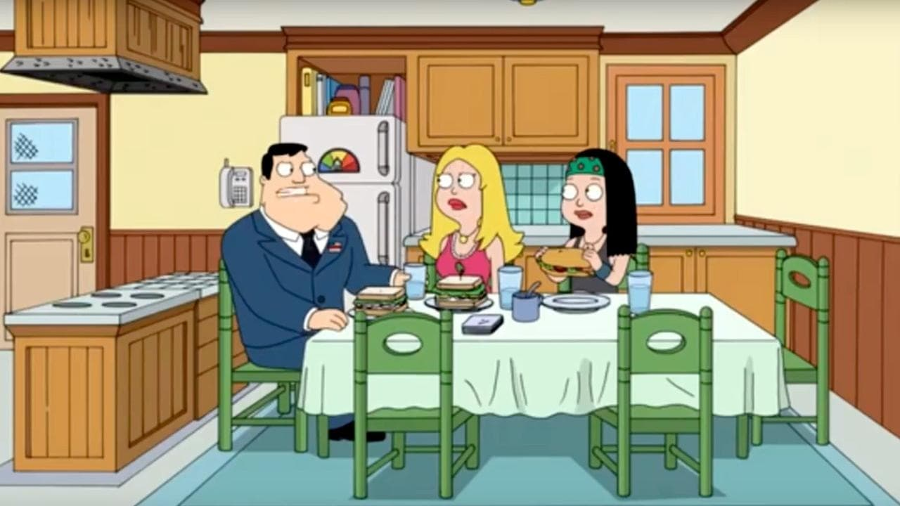 American Dad! Season 12 :Episode 3  Scents and Sensei-bility
