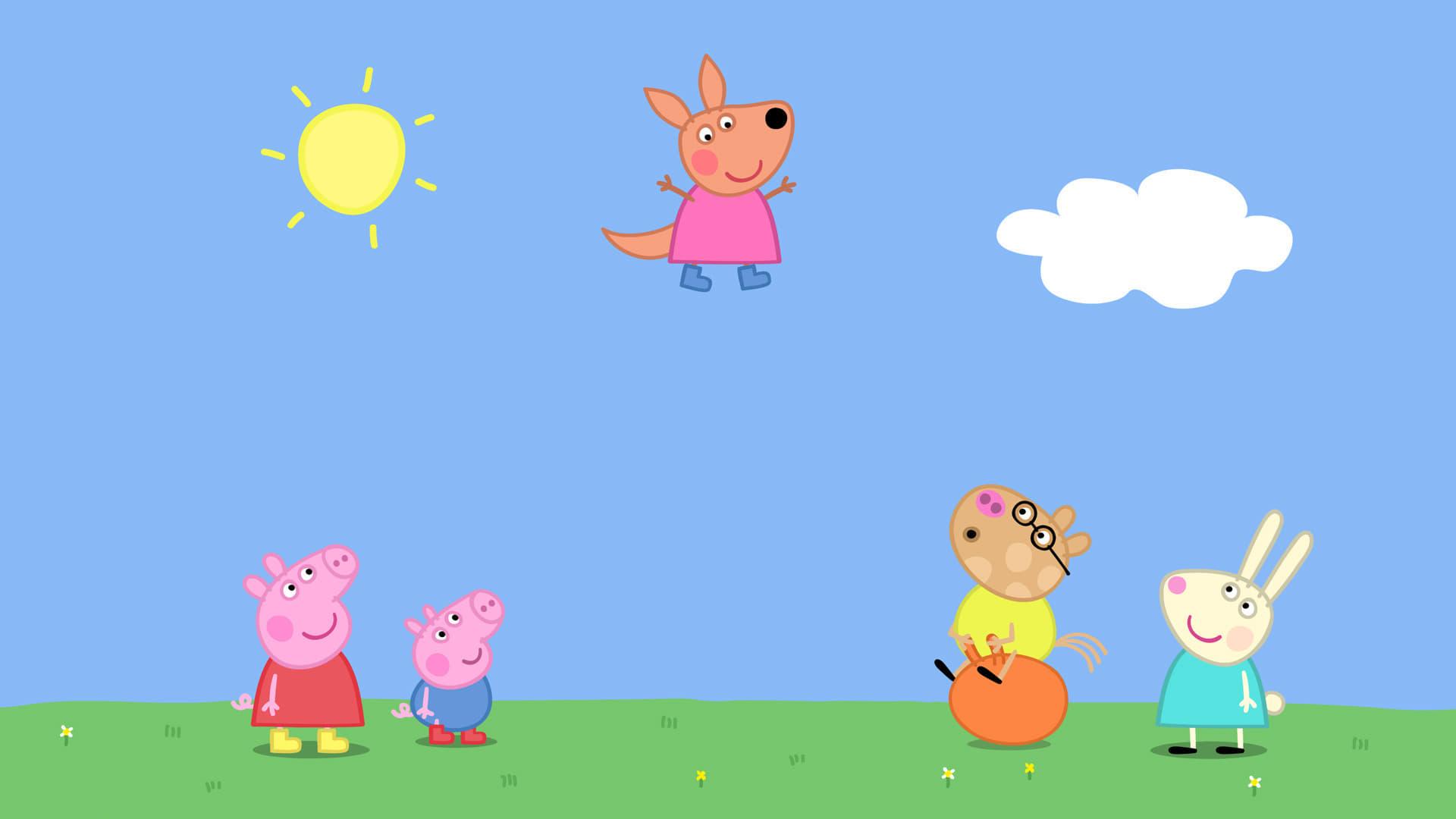 Peppa Pig Season 4 :Episode 14  Kylie Kangaroo