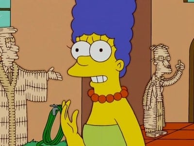 The Simpsons Season 18 :Episode 7  Ice Cream of Margie (With the Light Blue Hair)