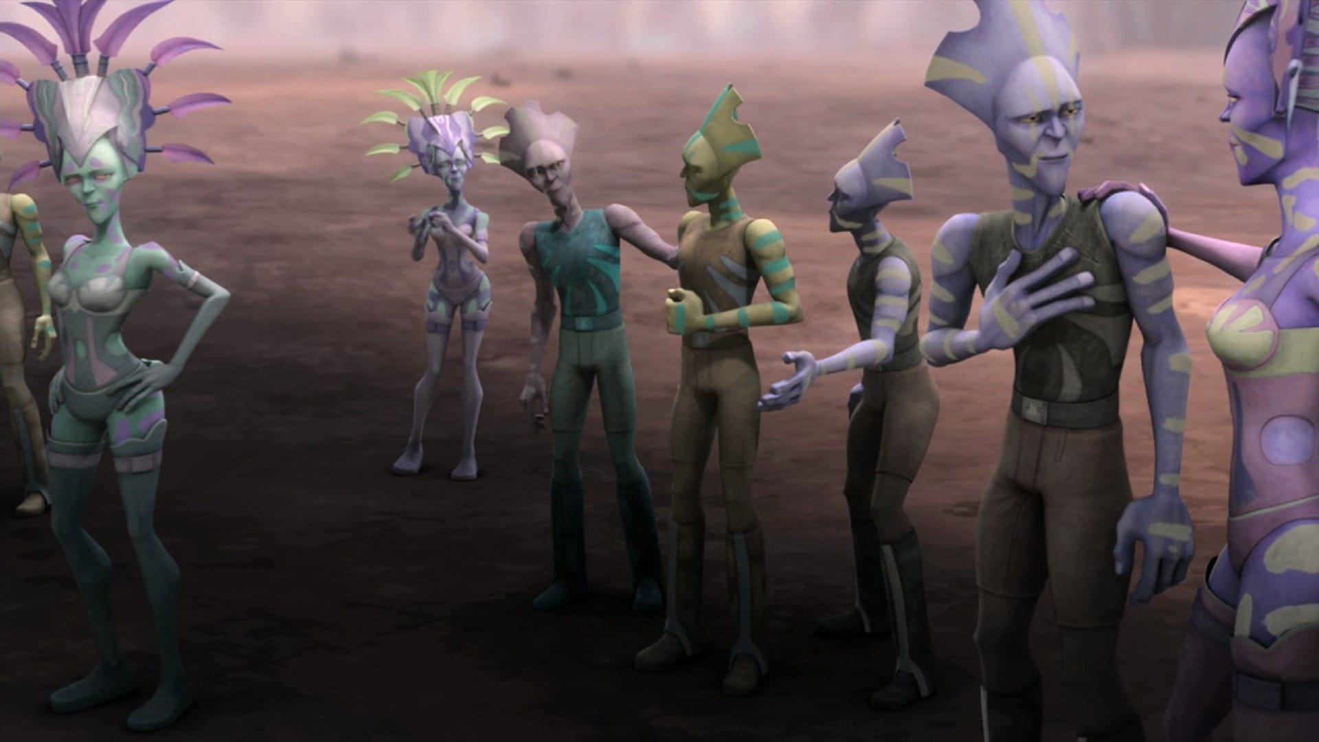 Star Wars: The Clone Wars Season 4 :Episode 6  Nomad Droids