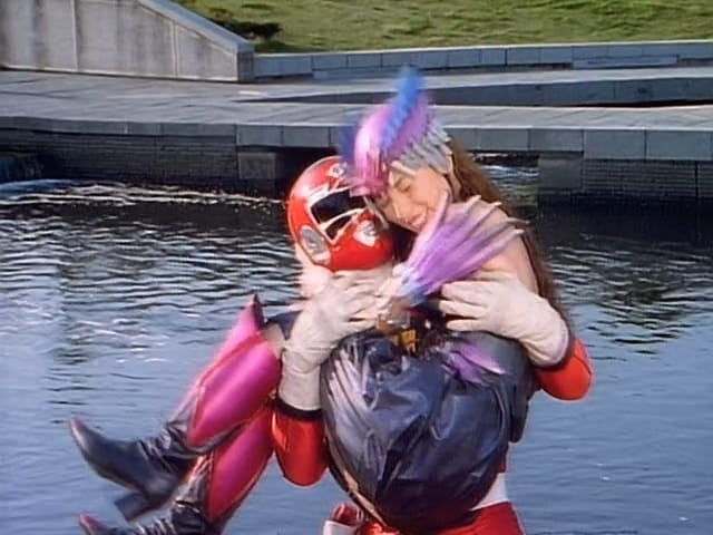 Super Sentai Season 20 :Episode 15  Loving Under a Provisional License