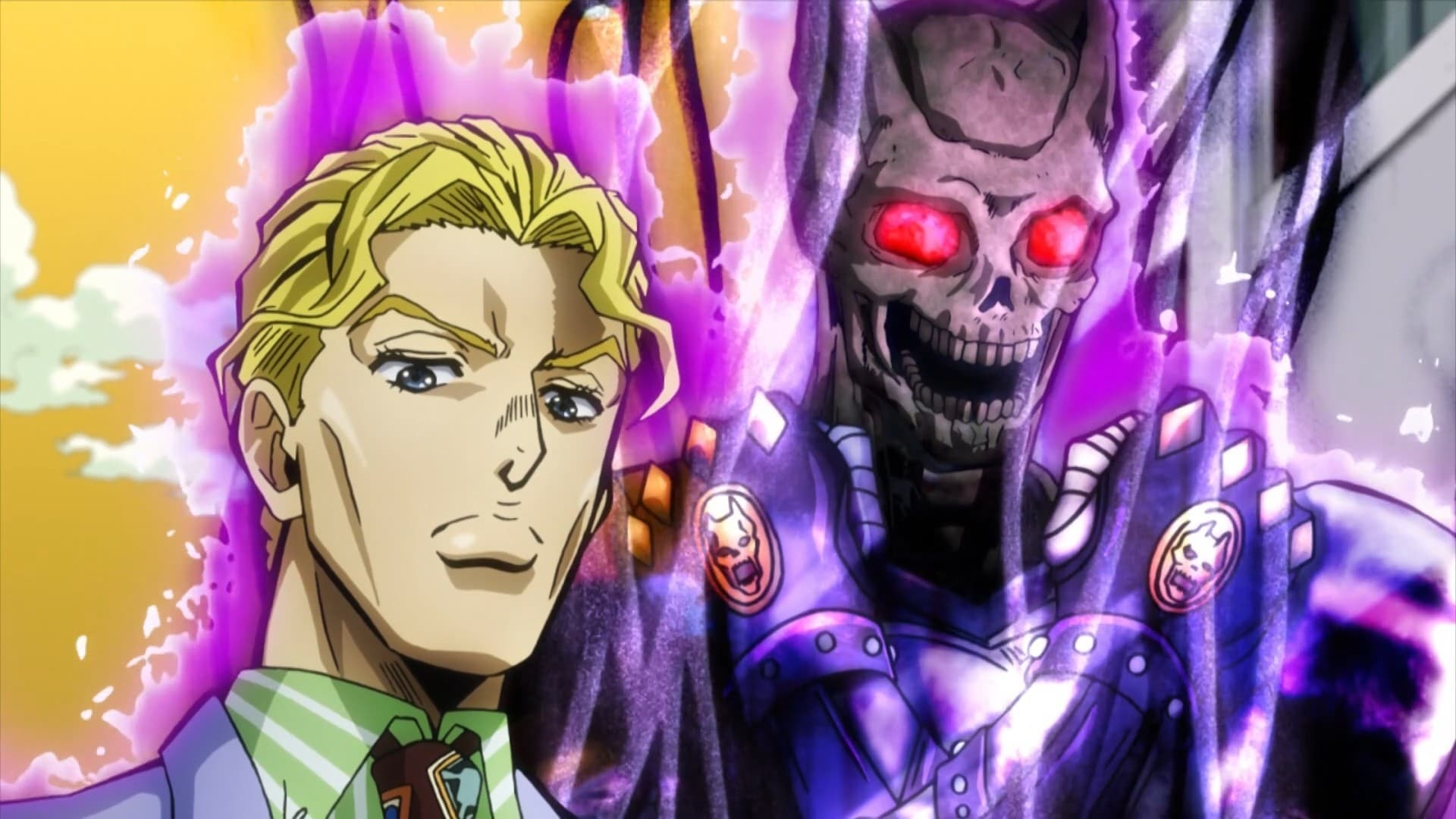 JoJo's Bizarre Adventure Season 3 :Episode 22  Yoshikage Kira Just Wants to Live Quietly, Part 2