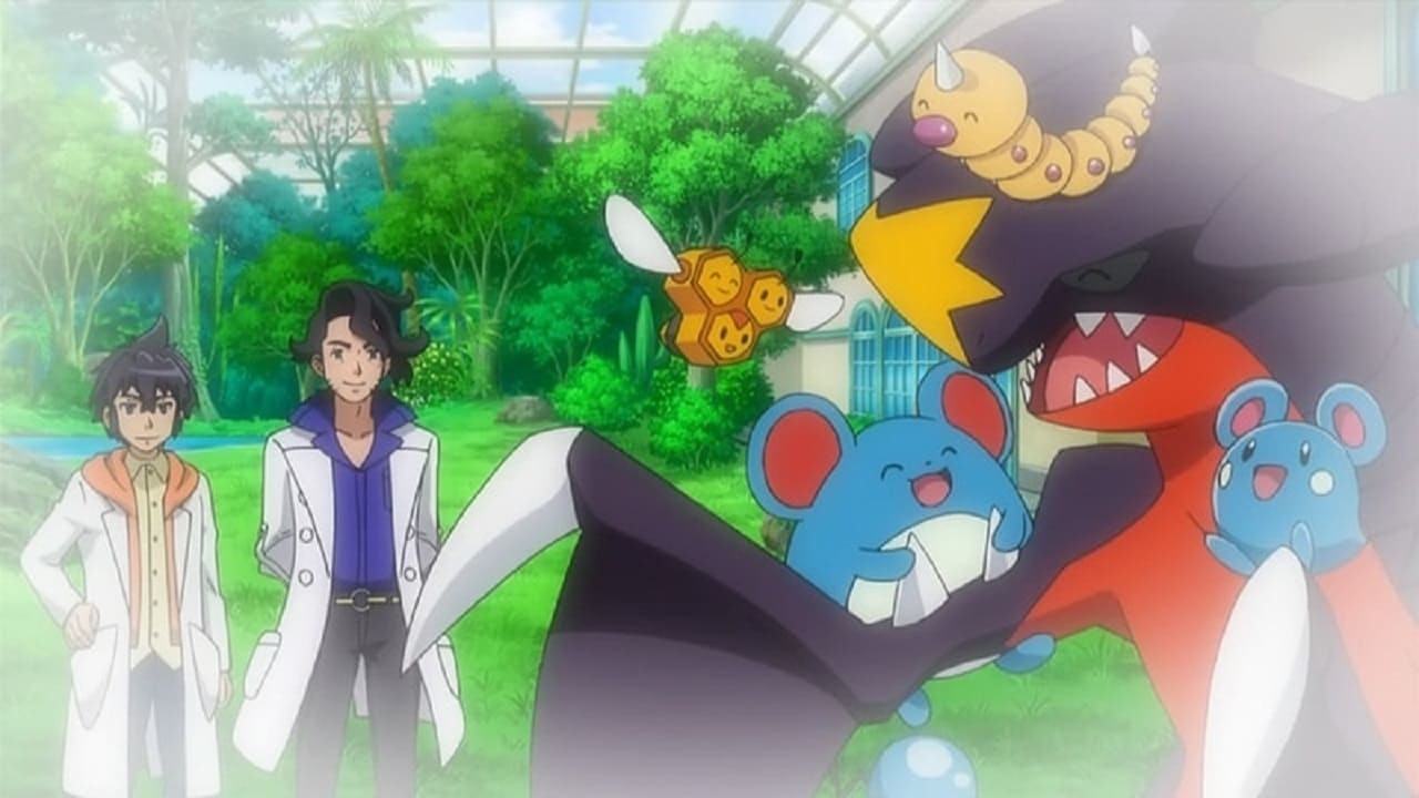Pokémon Season 18 :Episode 20  Garchomp's Mega Bond!