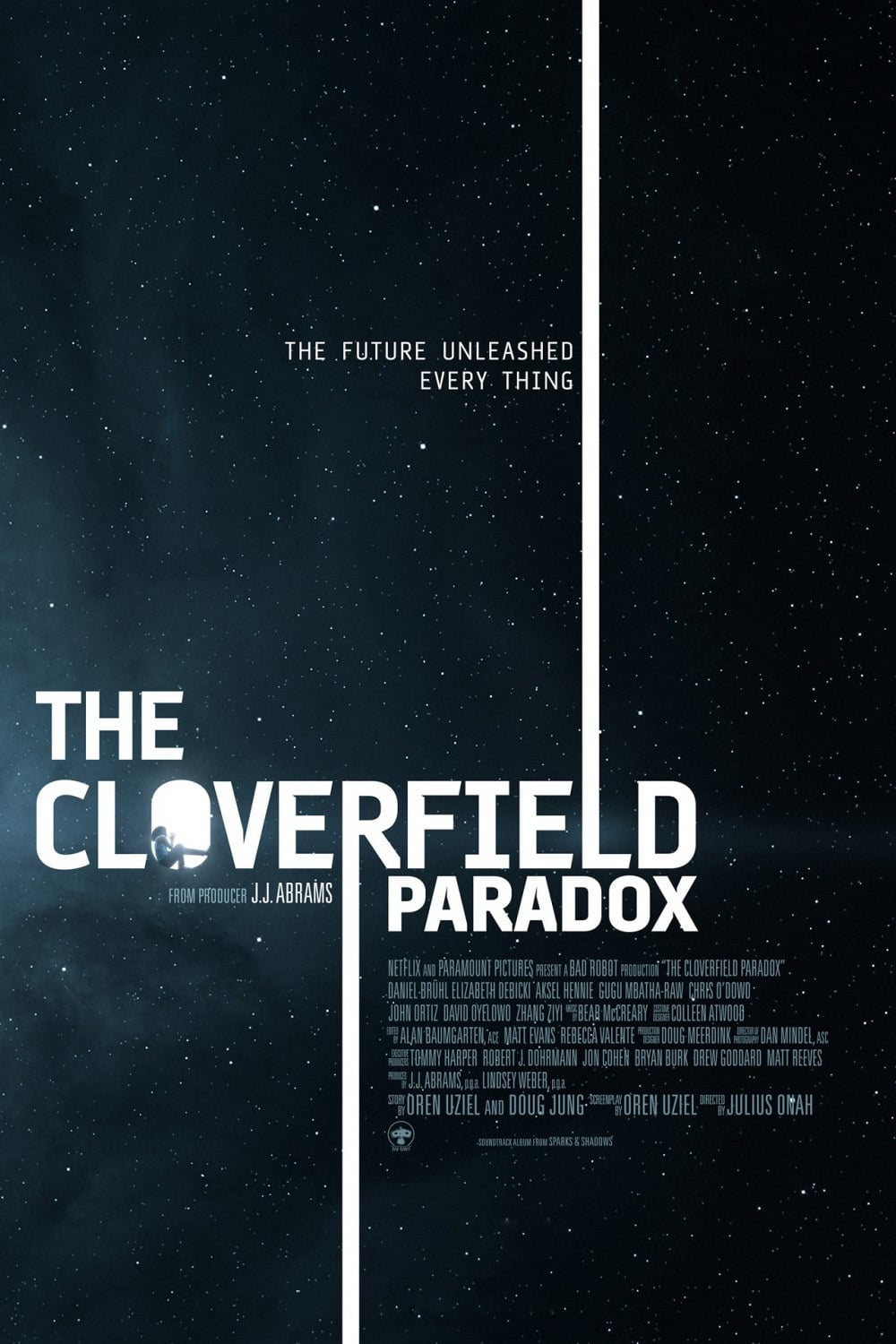 Poster and image movie Film The Cloverfield Paradox - The Cloverfield Paradox 2018