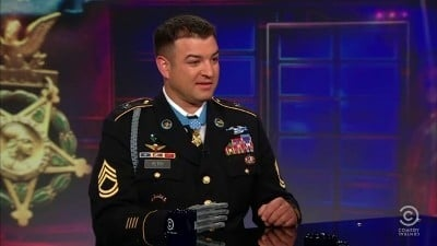 The Daily Show with Trevor Noah Season 16 :Episode 90  Sgt. 1st Class Leroy Petry