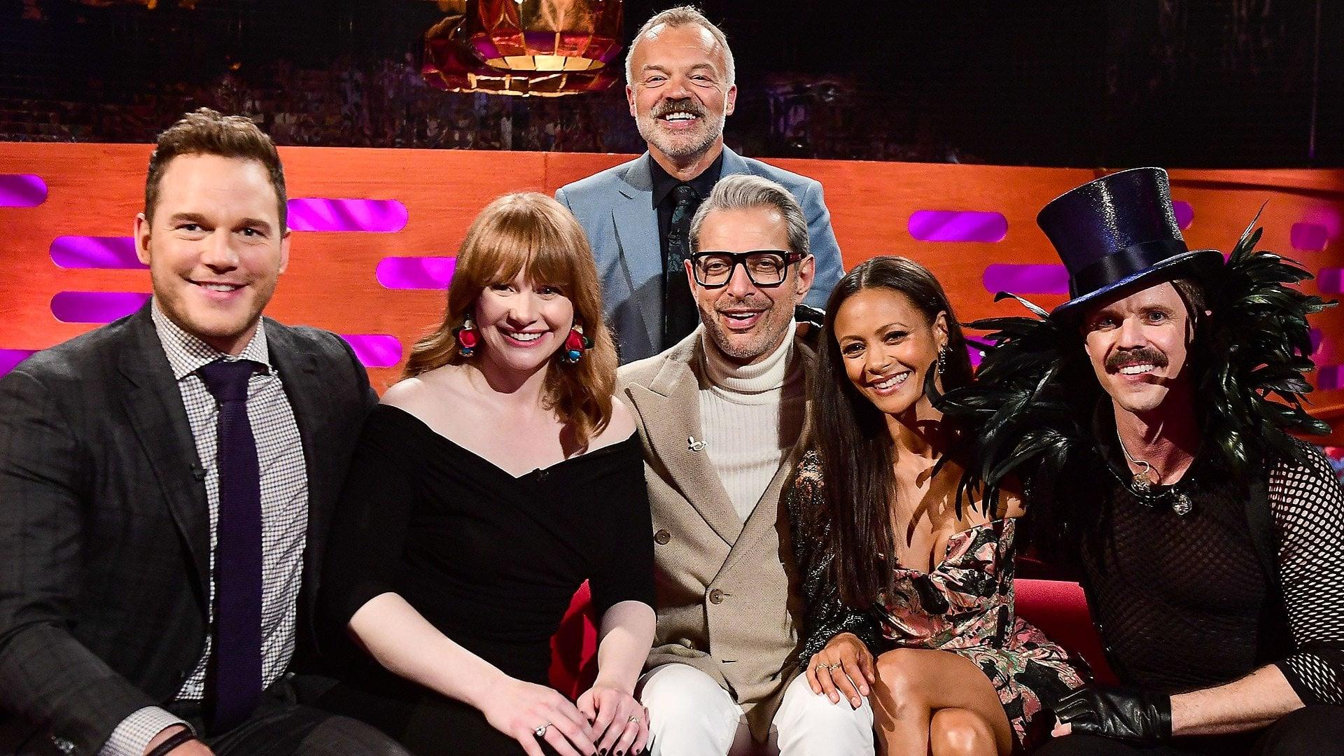 The Graham Norton Show Season 23 :Episode 8  Chris Pratt, Bryce Dallas Howard, Jeff Goldblum, Jake Shears