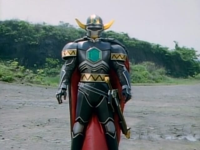 Super Sentai Season 22 :Episode 18  The Mysterious Black Knight