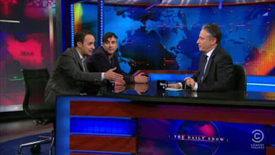 The Daily Show with Trevor Noah Season 16 :Episode 12  Kambiz Hosseini & Saman Arbabi