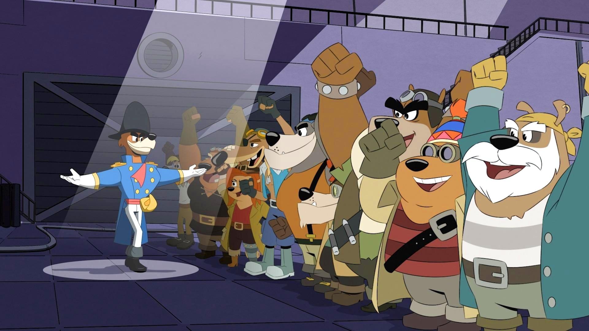 DuckTales Season 1 :Episode 20  Sky Pirates...In the Sky!
